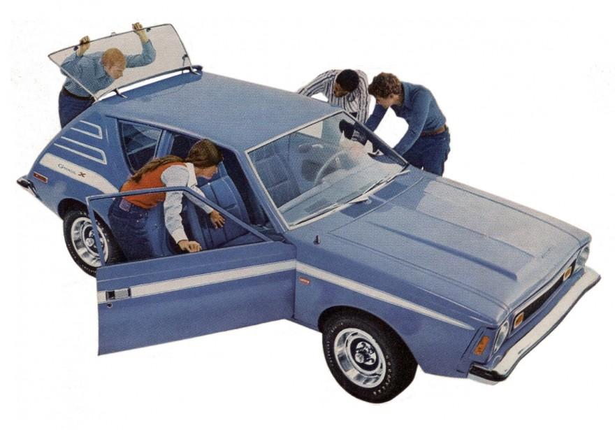 1972 AMC Gremlin.