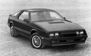 1985 Chrysler Laser XE.