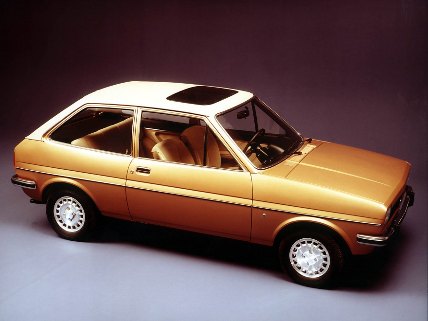 1976 Ford Fiesta.