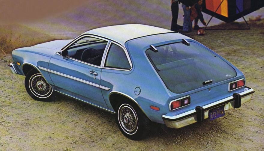 1978 Ford Pinto 3-door Runabout.