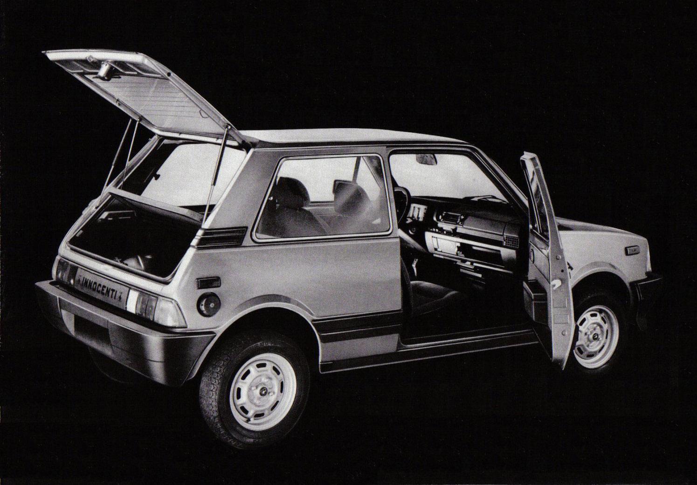 1984 Innocenti Minitre.