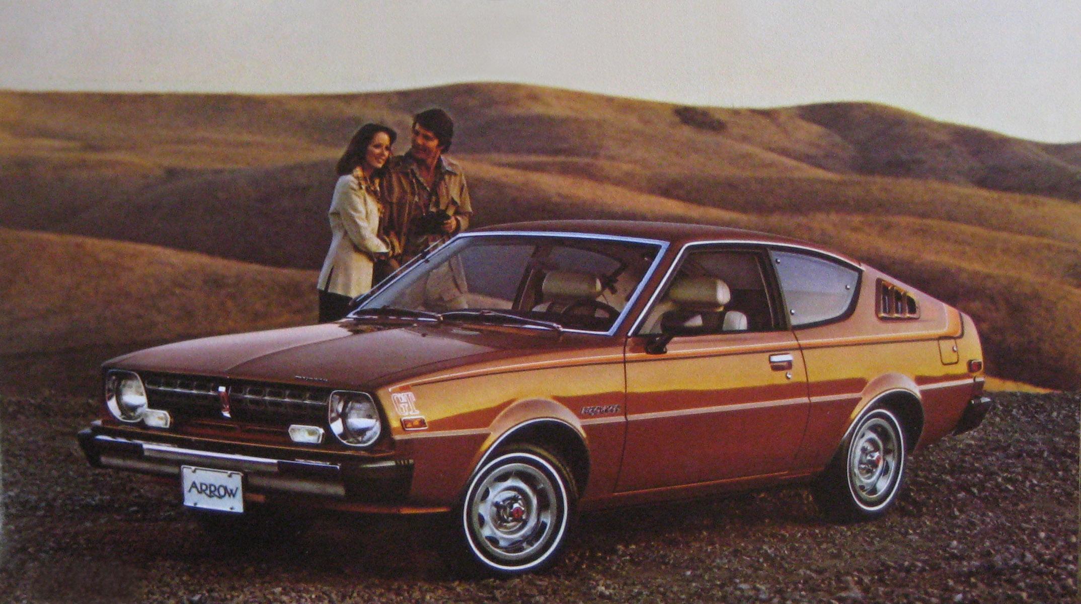 1976 Plymouth Arrow.