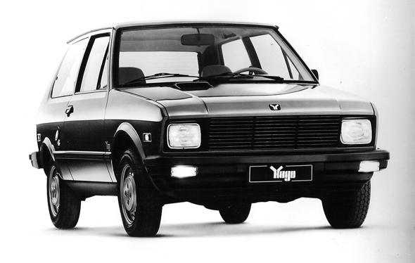 1985 Zastava Yugo GV Hatchback.