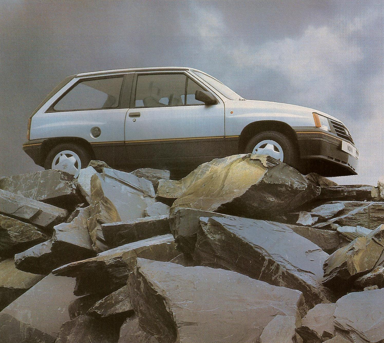 1985 Vauxhall Nova 1.3 SR
