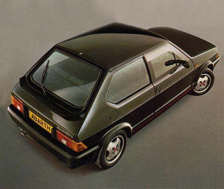 1984 Abarth Fiat Strada 130 TC.