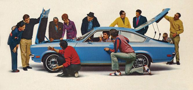 1971 Chevrolet Vega.