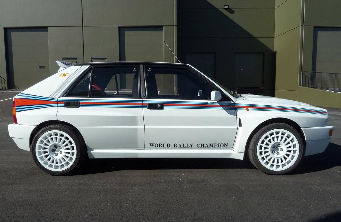 """1992 Lancia Delta Integrale Evo 1 """"Martini 5″"""