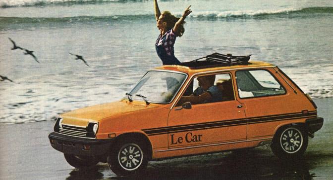 1978 Renault LeCar.