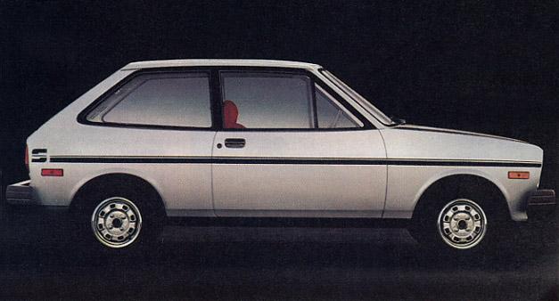 1980 Ford Fiesta Sport.