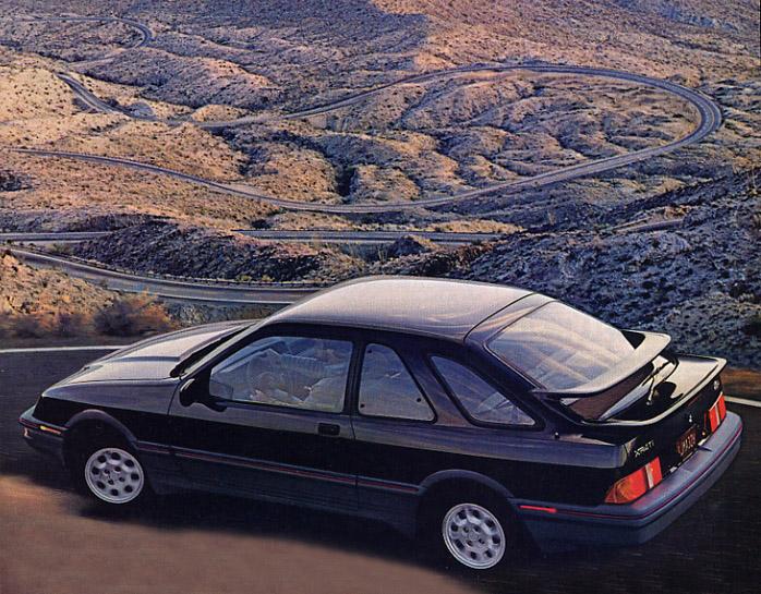 1986 Merkur XR4Ti