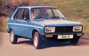 1980 Peugeot 104s