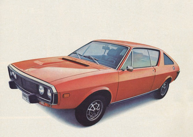 1974 Renault 17