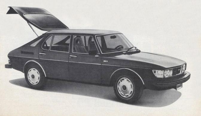 1978 Saab 99 EMS