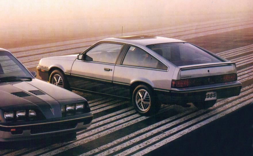 1985 Pontiac Sunbird S/E Turbo Hatchback