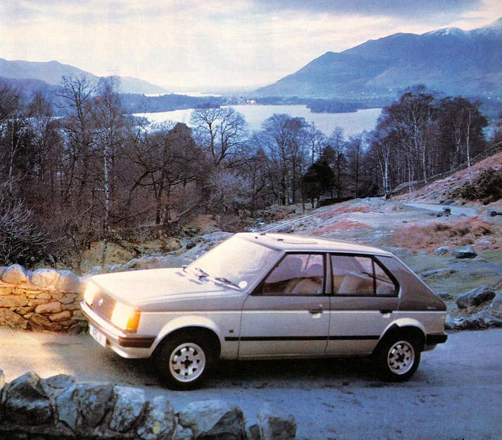 1985 Talbot Horizon Silver Fox