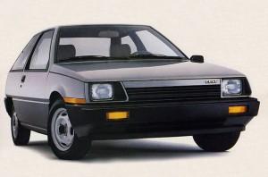 1986 Dodge Colt hatchback