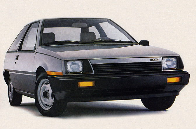 1986 Dodge Colt hatchback