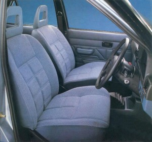1980 Ford Escort MK3 interior