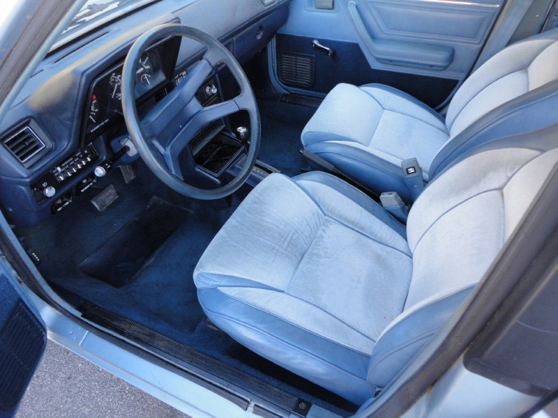 1988 Dodge Omni interior