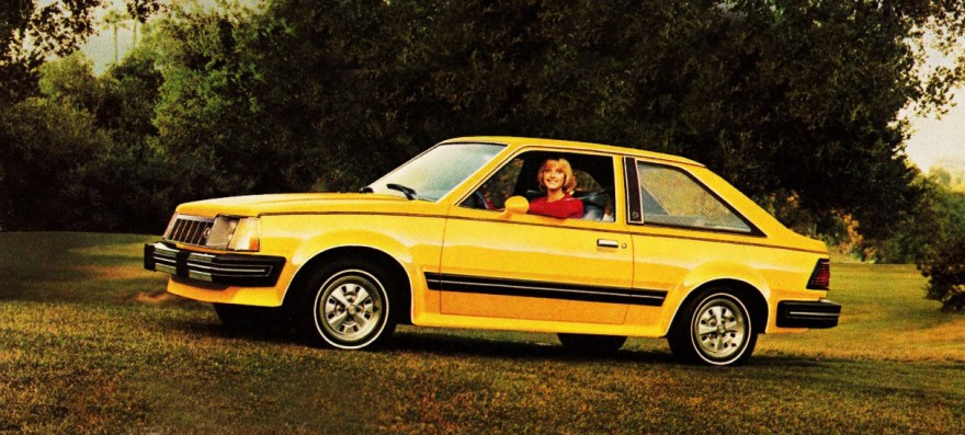 1981 Mercury Lynx LS-3 Hatchback