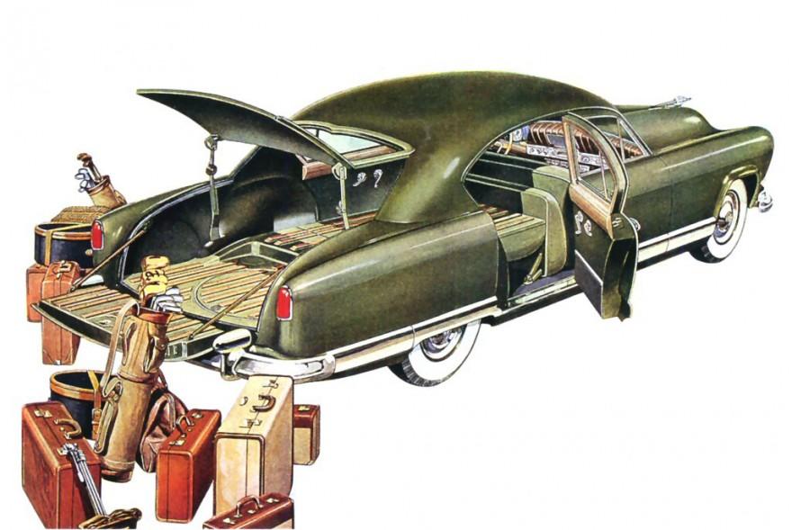 1951 Kaiser Vagabond