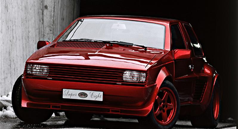 1984 Sbarro Ferrari Super 8 concept