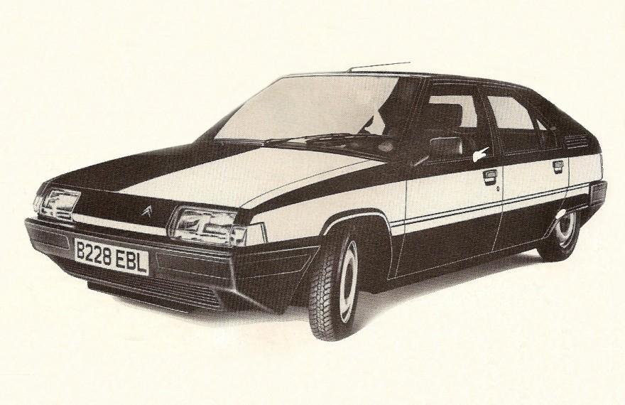 1985 Citroen BX