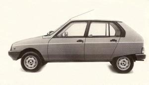 1985 Citroen Visa 11E