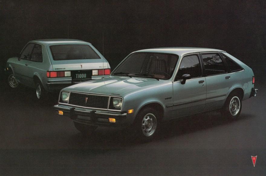 1981 Pontiac T-1000