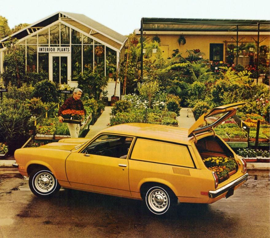 1972 Chevrolet Vega Panel