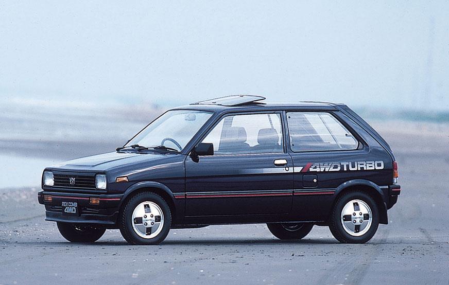 1984 Subaru Rex Combi AWD Turbo