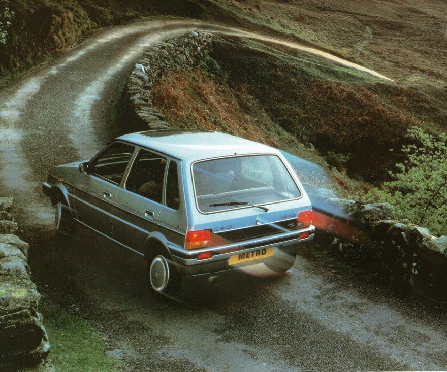 1985 Austin-Rover Metro