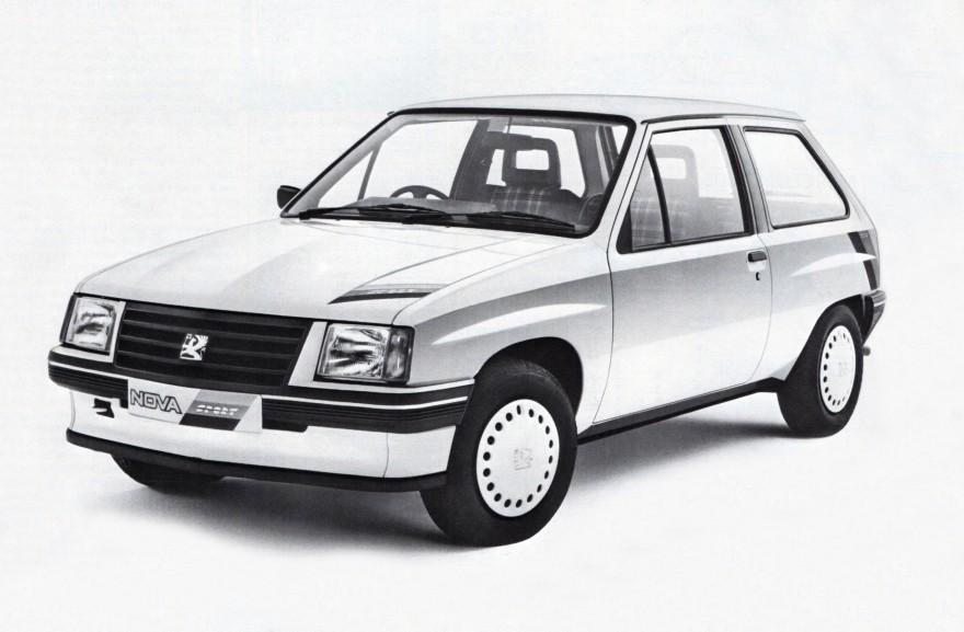 1985 Vauxhall Nova Sport