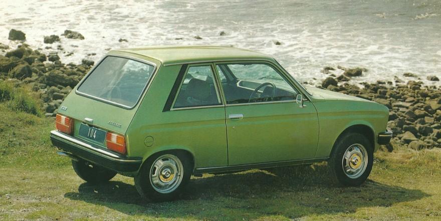 1979 Peugeot 104 ZS