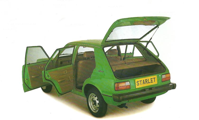1979 Toyota Starlet 1.2 GL