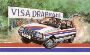 1982 Citroen Visa Drapeau