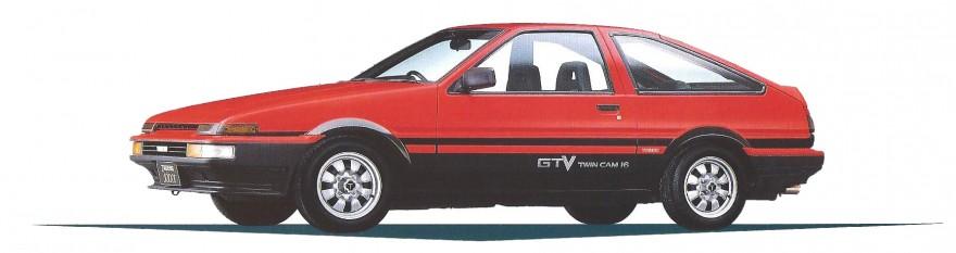 1985 Toyota Corolla Trueno GTV