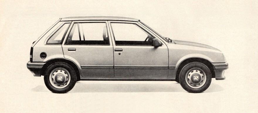 1985 Vauxhall Nova 5-Door