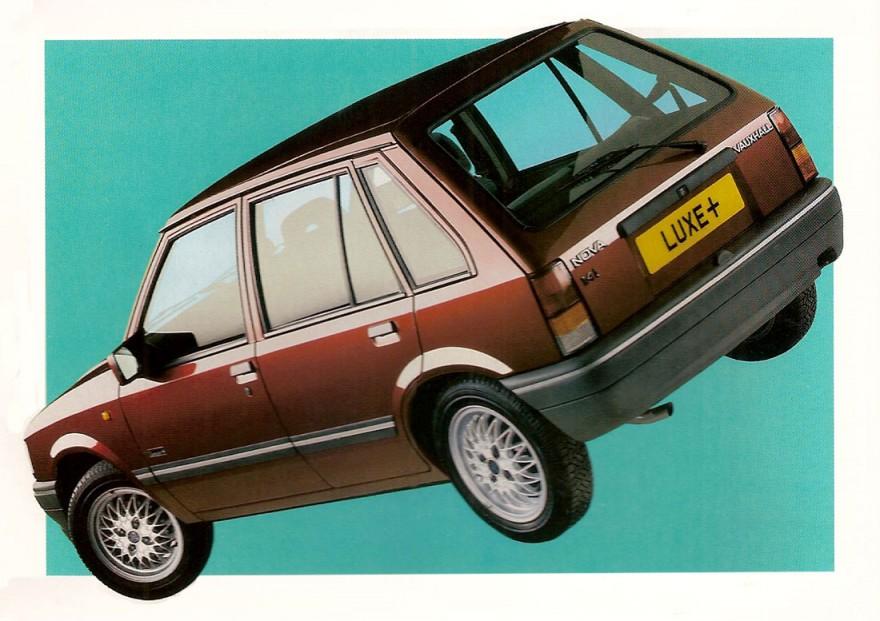 1992 Vauxhall Nova Luxe+