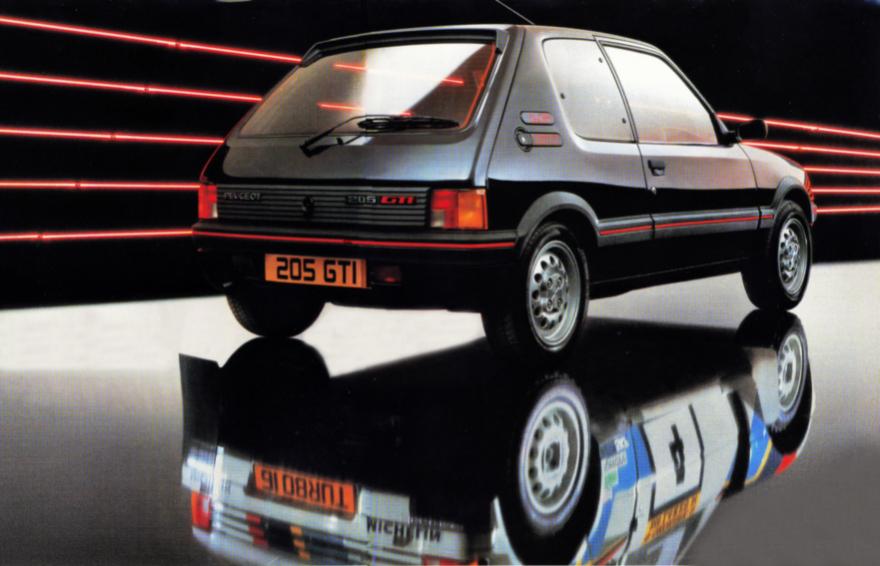 1984 Peugeot 205 GTi